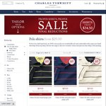 Charles Tyrwhitt Polo Shirts - $26.10 (Was $39) Delivered