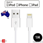 [Apple Mfi Certified] 1M Lightning to USB Sync Charging Cable for iPhone 6S 6 Plus SE 5S 5C 5 iPad Air Mini $4.95 + P&H $4.95