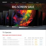 Sony 4K Android TV Sale - $550 to $2050 off