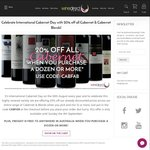 20% off Already Discounted Prices of Cabernet/Cab Blend Mixed Dozens for International Cabernet Day @ winedirect.com.au