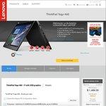 "Lenovo ThinkPad Yoga 460 14"" $1,499 Delivered (i7, 256GB SSD, 8GB RAM, 2GB Graphics) @ Lenovo"