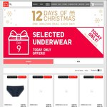 UNIQLO 12 Days of Xmas, Day 9 (09/12) - Selected Underwear $4.90