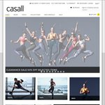 Casall - Women's Premium Activewear Brand from Sweden - 50% off Selected Styles Plus Free Shipping for Orders over $100
