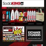 FREE SodaKING Canister Exchange | First 500 Customers | 60L Canister | Compatible with ALL Soda Maker Brands | 1000+ Locations