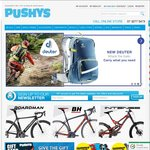 $15 off over $119, $30 off $219, $50 over $390, $100 off $790 + Free Shipping (> $30) @ Pushys