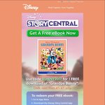 Free eBook Grandpa Bunny from Disney Story Central (iOS + Android)
