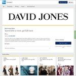 AmEx Statement Credit: David Jones Online (Spend $150 Get $30 Back)