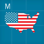 [iOS] Intro to United States, by Montessorium App Free (Was $7.99) @ iTunes