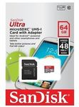 64GB SanDisk Ultra MicroSDXC + Adapter $29.44 Delivered @ raintechnology on eBay