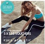 Win One of 5 $35 Vouchers for Kula Athletic