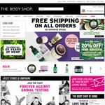 The Body Shop Free Shipping Today Only Sale Items from $9