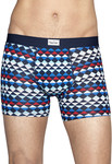 HAPPY SOCKS Zig Zag Jersey Trunk Now $5 (Was $27.96, Then $10) Size S,M,L Muti Color @ David Jones Castle Towers NSW Store Only