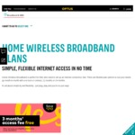 200GB Home Wireless Broadband on Optus 12 Month Contract $78 Per Month (Incl. Free Modem) - First 3 Months Free