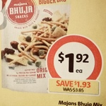 ½ Price Majan's Bhuja Mix Snacks $1.92 @ Coles (Starts Wed)