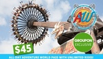 [Groupon] Perth - Adventure World Pass with Unlimited Rides - $45 (Day Pass) or $150 (Season Pass)