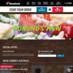 Domino's Daily Deal: Any 3 Pizzas Plus 2 Garlic Breads & 2 1.25L Drinks $38.95 Delivered