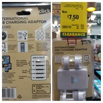 Bunnings 'Click' Brand 5 Port 7amp USB Travel Charger $7.50 (was $28)