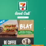 [7-Eleven Fuel App] Free Coffee Melt,  $1 375 ml Bundaberg Tropical Mango Sparkling Water