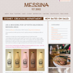 FREE Messina Milk (Choice of 5 Flavours) @ World Square, SYDNEY 12pm-7pm Friday 3/11/17