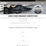 Win a Years Supply of ASICS Tiger Shoes (12 Pairs)