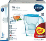 Brita Water 2.4l Jug with 3 Bonus Filters $23.20 Pickup with PTGG20 @ The Good Guys on eBay