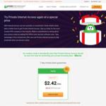Private Internet Access VPN: 1 Year US $29 (~ AU $38.60)