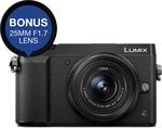Panasonic DMC-GX85 + 12-32mm f3.5-5.6 Lens + 25mm f1.7 Lens $659 @ Cambuy