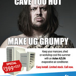 [WA] Aolan AZL06 Evaporative Cooler - $438.90 (RRP $699) @ Air Direct (Perth)