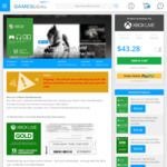 Xbox Live 12 Month Gold Membership A$55.17 (+2% VISA Payment = A$56.27) @ GamesDeal