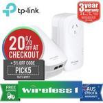 TP-Link TL-PA9020P KIT AV2000 Powerline $118.90 Delivered @ wireless1_eshop eBay