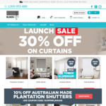 20% off @ Blinds City (Excl. Shutters)