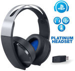 [Ex-Display] Sony PlayStation 4 Platinum Wireless Headset with Mic 3D for $123.89 Shipped @ Repo Guys on eBay
