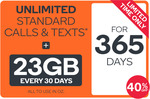 [New/Existing Customers] Up to 40% off Kogan Prepaid Plans (365 Days Only)