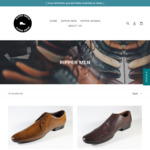 EOFY Sale - up to 25% off on All Stock - All Men's Genuine Leather Shoes - Free Shipping - from $74.99 @ Ripper Shoes