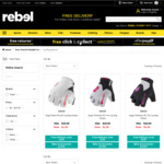 Sugoi Mens & Womens Cycling Gloves $1 (Was $15 - $10) (Click and Collect) @ rebel