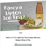 FREE Lipton Ice Tea with Any Burger, Wrap / Pita Purchase (Redeemable Daily until 31 October) @ Nando's (PERi-Perks Members)