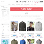 Jeanswest Further 50% off Sale Items