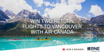 Win Return Economy Flights to Vancouver for 2 Worth Up to $5,663.69 from Brisbane Airport [QLD]