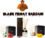 Black Friday Deal: 65% off Triple Combo Pack (2x Candles, 1x Diffuser), Items under $20 Ea + Free Shipping @ Burns and Bennett