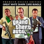 Grand Theft Auto V Premium Online Edition & Great White Shark Card Bundle $30 (Was $99.95) @ PlayStation Store