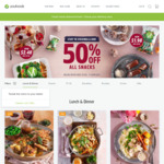 $20 off $69 Spend @ Youfoodz