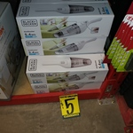 [NSW] BLACK+DECKER 5.4Wh 3.6V Lithium-Ion Dustbuster (NVB115JL-XE) $5 @ Bunnings Alexandria