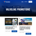 $20 Cashback (as EFTPOS Card) on Any 5L Valvoline Synpower Purchase @ Valvoline