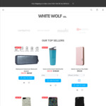 Sale 40% off Entire Store Mobile Phone Accessories with $5 Flat Shipping @ White Wolf Co