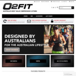 30% off All Womens Tights & Free Shipping @ O2fit