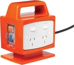 Arlec 4 Outlet Portable Power Block With Safety Switch $45 @ Bunnings