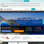 $50 Credit with Luxury Escapes When Making Your First Purchase (min $500)