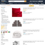 Up to 33% off Selected Items: QB Flannelette Covers $40.20, Sheet Set $50.40, King Sheet Set $59.99 @ Canningvale Amazon AU