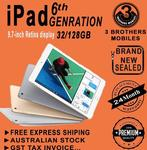 22% off Apple iPad 6th Gen 32GB Wi-Fi + Cellular 4G - $521 + Free Express Shipping (AU Stock) @ 3 Brothers Mobiles