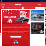 Win a Share of Swans & Volkswagen Prizes +/- a Volkswagen Golf 110TSI Highline from Sydney Swans/Volkswagen